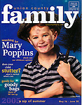 Cover Photograph for Union County Family Magazine. This cover won the magazine a Gold award for best original cover photograph from Parenting Publications.