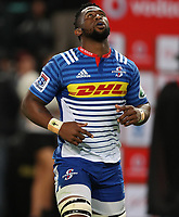DURBAN, SOUTH AFRICA - MAY 27: Siya Kolisi (captain) of the DHL Stormers during the Super Rugby match between Cell C Sharks and DHL Stormers at Growthpoint Kings Park on May 27, 2017 in Durban, South Africa. Photo by Steve Haag / stevehaagsports.com