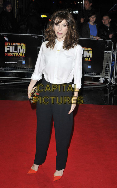 LONDON, ENGLAND - OCTOBER 13: Sally Hawkins attends the &quot;X + Y&quot; official screening, 58th LFF day 6, Odeon West End cinema, Leicester Square, on Monday October 13, 2014 in London, England, UK. <br /> CAP/CAN<br /> &copy;Can Nguyen/Capital Pictures