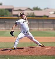 Mitchell Parker plays with the Canes Baseball in the Wilson Premier Classic at the Seattle Mariners complex on September 22-25, 2017 in Peoria, Arizona (Bill Mitchell)