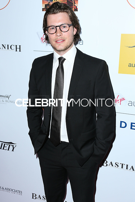 SANTA MONICA, CA, USA - OCTOBER 26: Will Howarth arrives at the 3rd Annual Australians in Film Awards Benefit Gala held at the Starlight Ballroom at Fairmont Miramar Hotel & Bungalows on October 26, 2014 in Santa Monica, California, United States. (Photo by Xavier Collin/Celebrity Monitor)