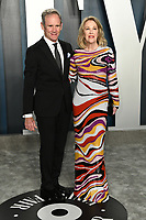 09 February 2020 - Los Angeles, California - Catherine O'Hara, Bo Welch. 2020 Vanity Fair Oscar Party following the 92nd Academy Awards held at the Wallis Annenberg Center for the Performing Arts. Photo Credit: Birdie Thompson/AdMedia