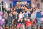 21ST PARTY: Lisa Coffey, Gallowsfield, Tralee (seated centre) had a great time celebrating her 21st birthday in the Greyhound bar, Tralee last Saturday night surrounded by many friends and family.