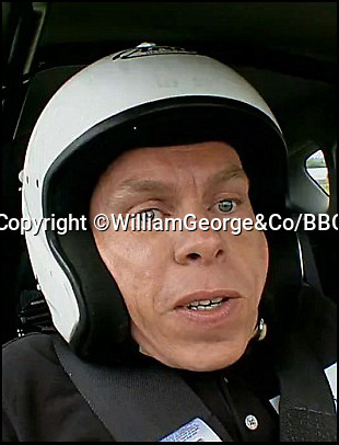 BNPS.co.uk (01202 558833)Pic: WilliamGeorge&Co/BBC/BNPS<br /> <br /> Warwick Davis<br /> <br /> A Vauxhall Astra used in the classic 'Star in a Reasonably Priced Car' segment of Top Gear has emerged for sale at auction.<br /> <br /> The red hatchback was used throughout the last three seasons of the show to be hosted by Jeremy Clarkson, Richard Hammond and James May, before the feature was replaced.<br /> <br /> It was driven by celebrities including Will Smith, Margot Robbie and Jimmy Carr and has been with its current owner for three years.<br /> <br /> He has now decided the time is right to part with his unique piece of TV history and it has been listed for sale with online auction house William George & co.<br /> <br /> Bidding on the car is already open and currently stands at £11,500.
