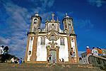 Igreja N.S. do Carmo em Ouro Preto.  Minas Gerais. 1999. Foto de Juca Martins.