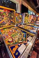 Roanoke Pinball Museum, Downtown Roanoke, Virgnia USA.