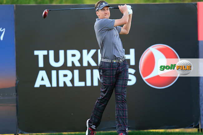 Ian Poulter (ENG) during round 2 of the Turkish Airlines Open presented by the Ministry of Tourism and Culture, hosted at the The Montgomerie Maxx Royal,Antalya,Turkey.<br /> Picture: Fran Caffrey www.golffile.ie