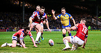 Picture by Alex Whitehead/SWpix.com - 17/03/2017 - Rugby League - Betfred Super League - Leeds Rhinos v Wakefield Trinity - Headingley Carnegie Stadium, Leeds, England - Leeds' Danny McGuire chases down the ball.