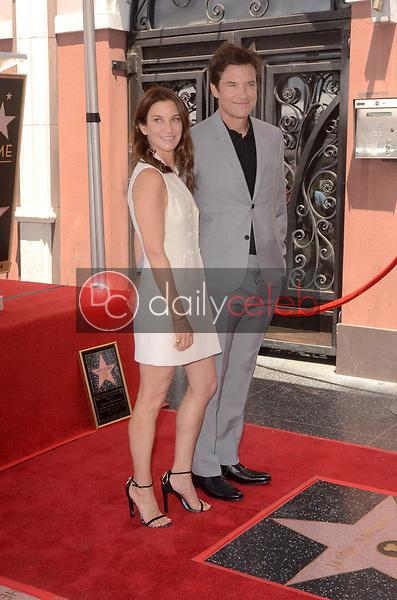 Amanda Anka, Jason Bateman<br /> at the Jason Bateman Star on the Hollywood Walk of Fame, Hollywood, CA 07-26-17<br /> David Edwards/DailyCeleb.com 818-249-4998