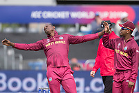 during West Indies vs New Zealand, ICC World Cup Warm-Up Match Cricket at the Bristol County Ground on 28th May 2019
