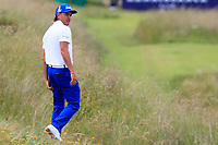 Rickie Fowler (USA) on the 3rd during Round 1 of the Aberdeen Standard Investments Scottish Open 2019 at The Renaissance Club, North Berwick, Scotland on Thursday 11th July 2019.<br /> Picture:  Thos Caffrey / Golffile<br /> <br /> All photos usage must carry mandatory copyright credit (© Golffile | Thos Caffrey)