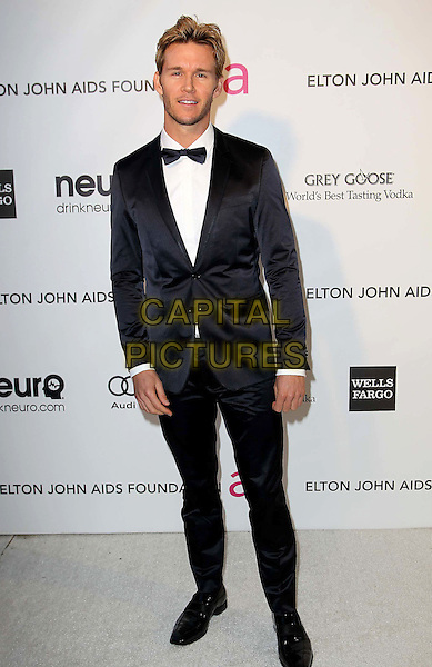 Ryan Kwanten.The 21st Annual Elton John AIDS Foundation Academy Awards Viewing Party held at The City of West Hollywood Park in West Hollywood, California, USA..February 24th, 2013.oscars full length white shirt black tuxedo bow tie.CAP/ADM/KB.©Kevan Brooks/AdMedia/Capital Pictures.