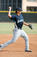 Vinnie Catricala - Seattle Mariners 2009 Instructional League .Photo by:  Bill Mitchell/Four Seam Images..