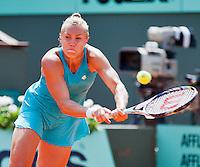 02-06-12, France, Paris, Tennis, Roland Garros,   Nina Bratchikova