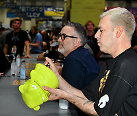 FOX FAN FAIR AT SAN DIEGO COMIC-CON© 2019: L-R: BOB'S BURGERS Cast Members Larry Murphy and John Roberts during the BOB'S BURGERS booth signing on Friday, July 19 at the FOX FAN FAIR AT SAN DIEGO COMIC-CON© 2019. CR: Alan Hess/FOX © 2019 FOX MEDIA LLC