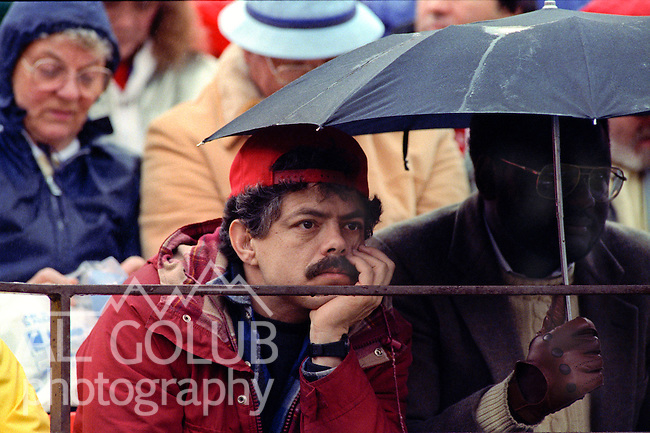 San Francisco 49ers vs  Minnesota Vikings  at Candlestick Park Saturday, January 9, 1988.. Vikings beat 49ers 36-24.49er fans unhappy..