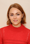 """AnnaSophia Robb in rehearsal with Red Bull Theater's All-Female """"MACBETH"""" at the Vineyard Theatre Rehearsal Studios on April 12, 2019 in New York City."""