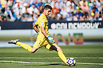 Goalkeeper Jon Ander Serantes of Club Deportivo Leganes in action during their La Liga match between Club Deportivo Leganes and Valencia CF at the Butarque Municipal Stadium on 25 September 2016 in Madrid, Spain. Photo by Diego Gonzalez Souto / Power Sport Images