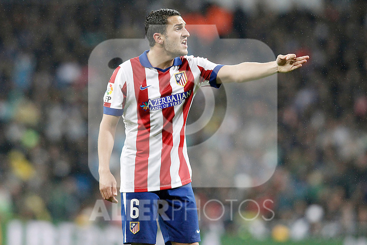 Atletico de Madrid's Koke Resurrecccion during Spanish King's Cup match.January 15,2015. (ALTERPHOTOS/Acero)