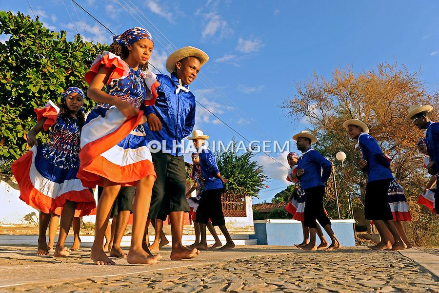 Festa folclorica Dança do Cavalo Pianco em Amarante. Piaui. 2015. Foto de Candido Neto.