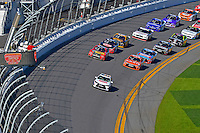 19-20 February, 2016, Daytona Beach, Florida USA<br /> A Toyota Camry Pace Car leads the field during the Parade and Pace laps.<br /> ©2016, F. Peirce Williams