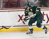 Chris McCarthy (UVM - 3) - The Boston College Eagles defeated the visiting University of Vermont Catamounts to sweep their quarterfinal matchup on Saturday, March 16, 2013, at Kelley Rink in Conte Forum in Chestnut Hill, Massachusetts.
