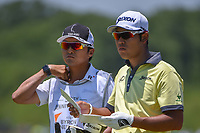 Hideki Matsuyama (JPN) looks over his approach show ont 1 during round 2 of the AT&amp;T Byron Nelson, Trinity Forest Golf Club, at Dallas, Texas, USA. 5/18/2018.<br /> Picture: Golffile | Ken Murray<br /> <br /> <br /> All photo usage must carry mandatory copyright credit (&copy; Golffile | Ken Murray)