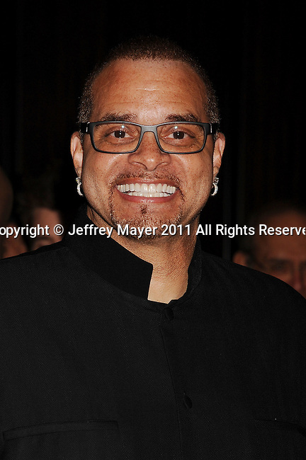 """BEVERLY HILLS, CA - NOVEMBER 01: Sinbad arrives at The Fulfillment Fund's """"2011 Stars Gala"""" held at The Beverly Hilton Hotel on November 1, 2011 in Beverly Hills, California."""