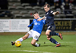 Dundee v St Johnstone&hellip;29.12.18&hellip;   Dens Park    SPFL<br />Ross Callachan and Paul McGowan<br />Picture by Graeme Hart. <br />Copyright Perthshire Picture Agency<br />Tel: 01738 623350  Mobile: 07990 594431