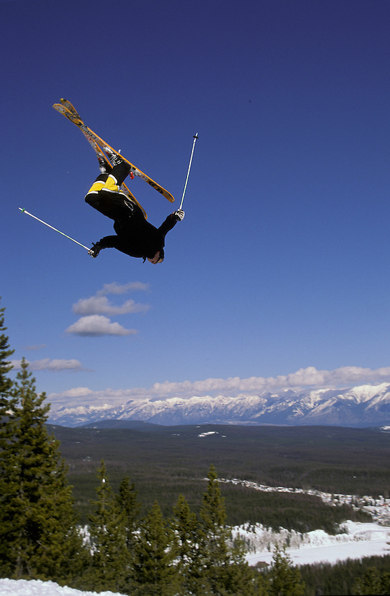 Fourteen year old Shane Gibson doing his thing at Kimberley Alpine Resort, Bc