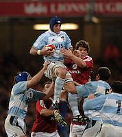 2005 British & Irish Lions vs Pumas [ Argentina], at The Millennium Stadium, Cardiff, WALES match played on  23.05.2005, Juan Manual Leguizamon.Photo  Peter Spurrier. .email images@intersport-images..
