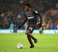 31st January 2020; Cardiff City Stadium, Cardiff, Glamorgan, Wales; English Championship Football, Cardiff City versus Reading; Ovie Ejaria of Reading with the ball