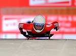 17 December 2010: Barbara Hosch sliding for Switzerland, finishes in 18th place at the Viessmann FIBT Skeleton World Cup Championships in Lake Placid, New York, USA. Mandatory Credit: Ed Wolfstein Photo