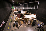 One of DePaul University's sound stages seen during a tour Tuesday, Aug. 1, 2017, at the Cinespace Chicago Film Studios.  (DePaul University/Jamie Moncrief)