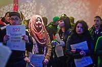 Gaza Die In Demo BBC Mailbox Birmingham (Nov 2012)