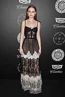 SANTA MONICA, CA - JANUARY 06: Actress Madelaine Petsch arrives at the The Art Of Elysium's 11th Annual Celebration - Heaven at Barker Hangar on January 6, 2018 in Santa Monica, California.<br /> CAP/ROT/TM<br /> &copy;TM/ROT/Capital Pictures