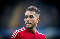 Roberto Pereyra of Watford during the Premier League match between Chelsea and Watford at Stamford Bridge, London, England on 21 October 2017. Photo by Andy Rowland.