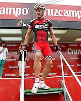 Philippe Gilbert during the stage of La Vuelta 2012 between Barakaldo and Valdezcaray.August 21,2012. (ALTERPHOTOS/Acero) /NortePhoto.com