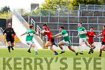 Sean O'Shea Kenmare takes on Darragh O'Doherty Legion during their Club Championship s/f in Fitzgerald Stadium on Sunday