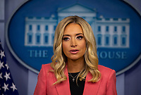 Press Secretary Kayleigh McEnany holds a Press Briefing at the White House