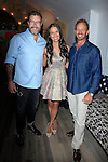 "WEST HOLLYWOOD - JUN 15: Dean McDermott, Erin Ziering, Ian Ziering at the ""At Home with the Zierings"" Blog Launch Party at Au Fudge on June 15, 2016 in West Hollywood, California"