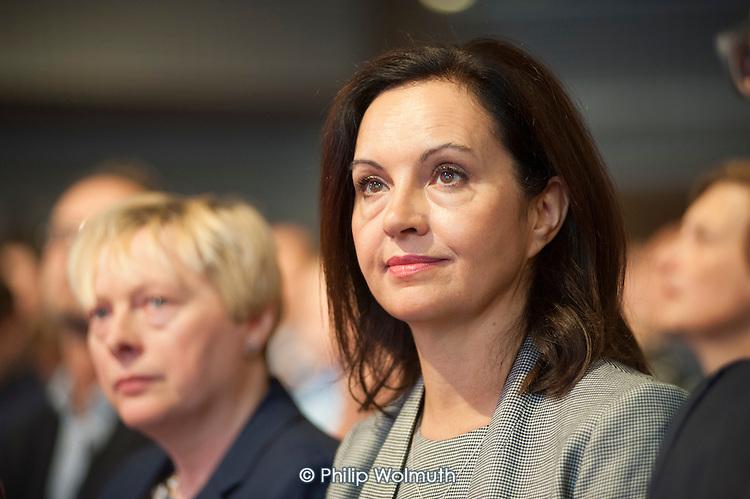 Caroline Flint at Labour Party deputy leadership election Westminster London