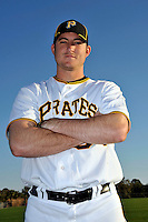 Feb 28, 2010; Bradenton, FL, USA; Pittsburgh Pirates  pitcher Bryan Morris (64) during  photoday at Pirate City. Mandatory Credit: Tomasso De Rosa/ Four Seam Images