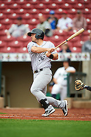 Kane County Cougars third baseman Josh Anderson (30) during the first game of a doubleheader against the Cedar Rapids Kernels on May 10, 2016 at Perfect Game Field in Cedar Rapids, Iowa.  Kane County defeated Cedar Rapids 2-0.  (Mike Janes/Four Seam Images)