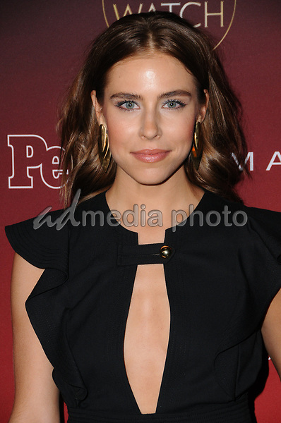 """04 October  2017 - Hollywood, California - Alexandra Turshen. 2017 People's """"One's to Watch"""" Event held at NeueHouse Hollywood in Hollywood. Photo Credit: Birdie Thompson/AdMedia"""