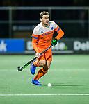 AMSTELVEEN - Sander Baart   tijdens de hockeyinterland Nederland-Ierland (7-1) , naar aanloop van het WK hockey in India.  COPYRIGHT KOEN SUYK