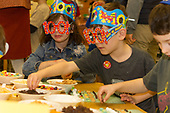 Akiba Schechter Jewish Day School kindergarten students celebrated 100 days of learning about the numbers between one and one hundred Tuesday afternoon, February 22nd, 2017 by inviting friends and family to participate in games and activities that revolve around the number 100.<br /> <br /> Please 'Like' &quot;Spencer Bibbs Photography&quot; on Facebook.<br /> <br /> All rights to this photo are owned by Spencer Bibbs of Spencer Bibbs Photography and may only be used in any way shape or form, whole or in part with written permission by the owner of the photo, Spencer Bibbs.<br /> <br /> For all of your photography needs, please contact Spencer Bibbs at 773-895-4744. I can also be reached in the following ways:<br /> <br /> Website &ndash; www.spbdigitalconcepts.photoshelter.com<br /> <br /> Text - Text &ldquo;Spencer Bibbs&rdquo; to 72727<br /> <br /> Email &ndash; spencerbibbsphotography@yahoo.com
