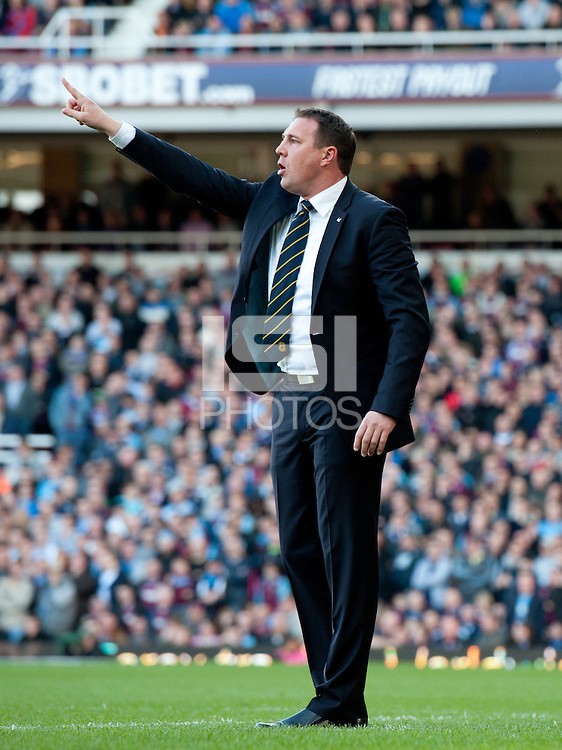 Cardiff manager Malky Mackay.