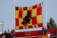 Striscione dei Tifosi del Benevento, banner fans, supporters<br /> Benevento 01-10-2017  Stadio Ciro Vigorito<br /> Football Campionato Serie A 2017/2018. <br /> Benevento - Inter<br /> Foto Cesare Purini / Insidefoto
