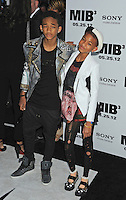 "Jaden Smith, Willow Smith attending the ""Men In Black 3"" New York Premiere, held at the Ziegfeld Theater in New York City on 23.05.2012.credit: Jennifer Graylock/face to face.- No Italy, UK, Australia, France -"